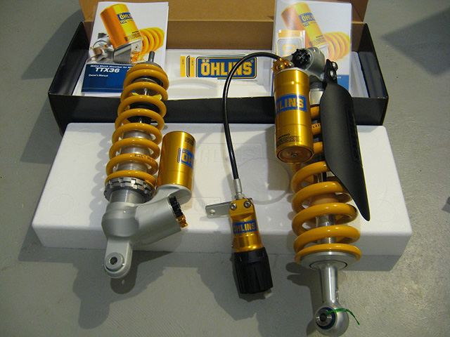 OHLINS BMW R 1200 GS and GSA regular Non-Electronic TTX