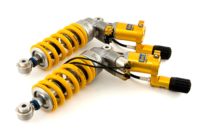 Ohlins EC-Controlled Shocks